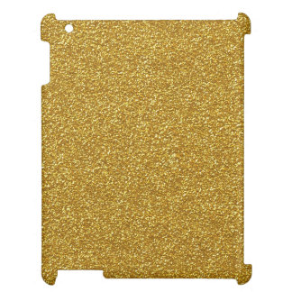 Gold Glitter Case For The iPad