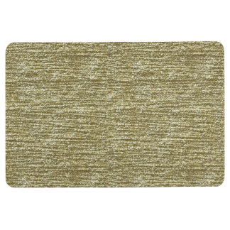 Gold Glitter Floor Mat