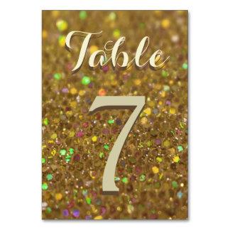 Gold Glitter Glam Card