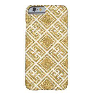 Gold Glitter Greek Pattern Case