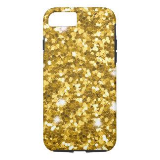 Gold Glitter iPhone 7 Tough Case