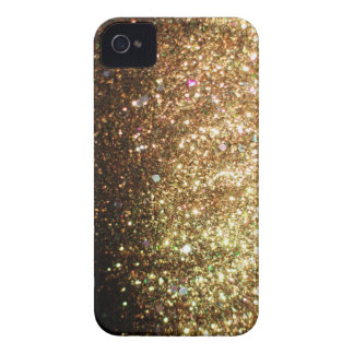 Gold Glitter iPhone Christmas Case iPhone 4 Cover