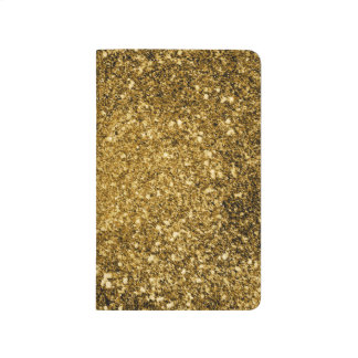 Gold Glitter Note Book