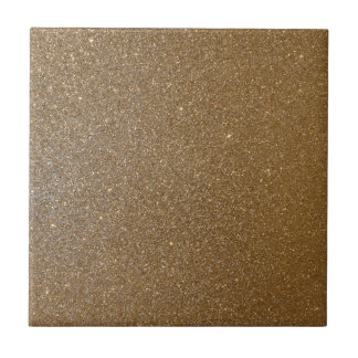 Gold Glitter Tile
