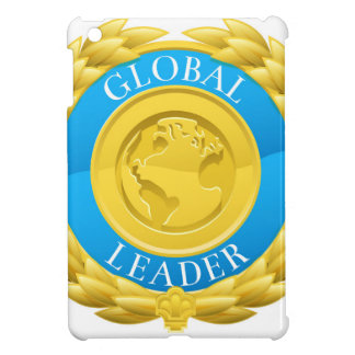 Gold Global Leader Winner Laurel Wreath Medal Case For The iPad Mini
