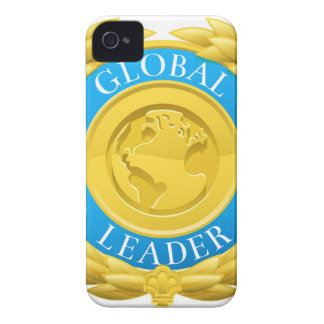 Gold Global Leader Winner Laurel Wreath Medal iPhone 4 Case