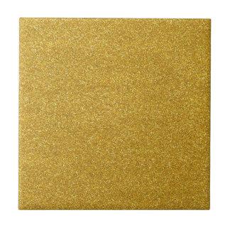 Gold Golden Glitter Sparkle Texture Ceramic Tiles