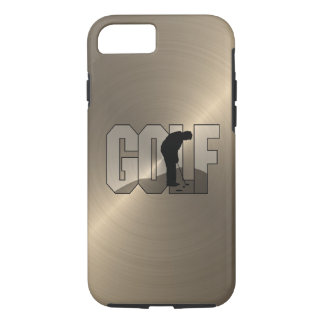 Gold Golf iPhone 7 Case