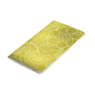 gold gradient zen pattern journal