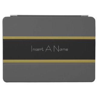 Gold-Grey-Black Striped iPad Air & iPad Air2 Cover iPad Air Cover