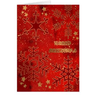 Gold & Grunge Card