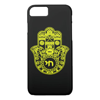 Gold Hamsa Symbol iPhone 7 Case