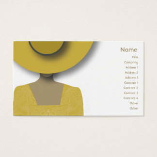 Gold Hat - Business Business Card
