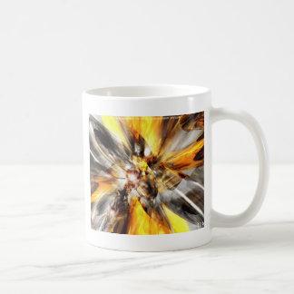 Gold Haze Classic White Coffee Mug