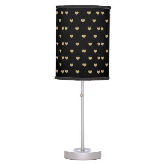 GOLD HEARTS DESIGN FRO TABLE LAMP