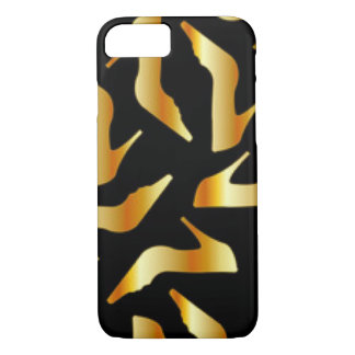 Gold High Heels Pattern Design iPhone 8/7 Case