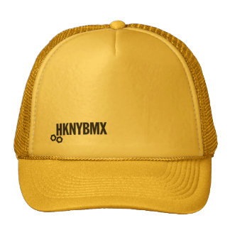 Gold HKNYBMX Trucker Cap Trucker Hat