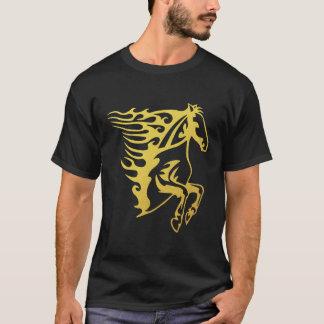 Gold Horse T-Shirt