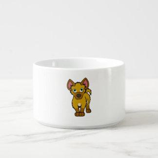 Gold Hyena Cub Bowl