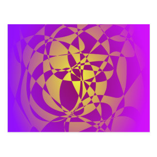Gold in Purple Haze Postcard