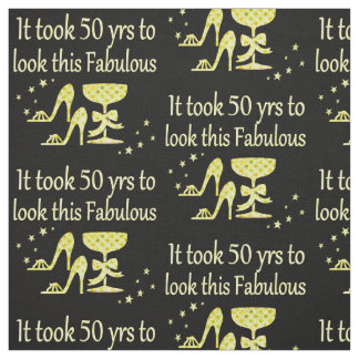 GOLD IT TOOK 50 YRS TO LOOK THIS FABULOUS FABRIC