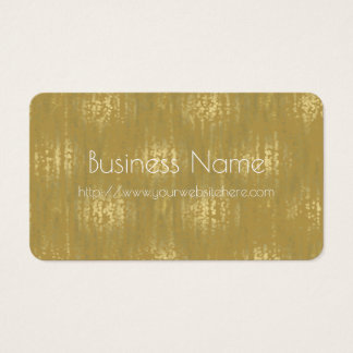 Gold Jewel Bokeh Abstract Business Card