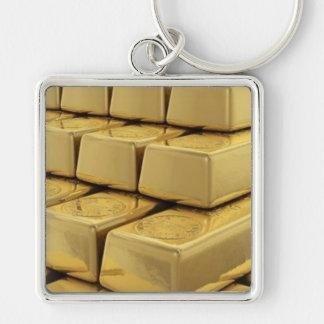 GOLD KEYS KEYCHAIN