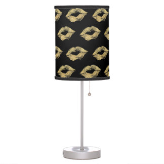 Gold Kisses Table Lamp
