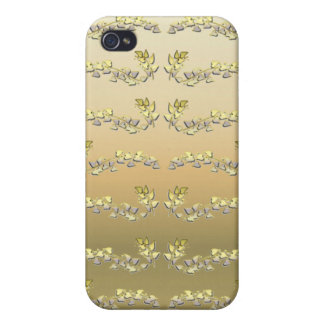 Gold Leaf Covers For iPhone 4