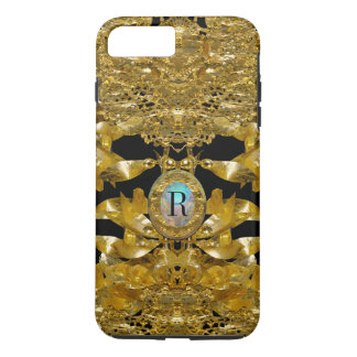 Gold Leaf Raphael Monogram iPhone 7 Plus Case