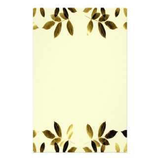 Gold Leaves Border Flyer