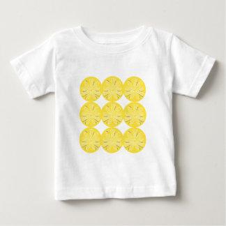 Gold lemons on white baby T-Shirt