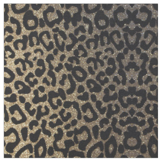 Gold Leopard Fabric