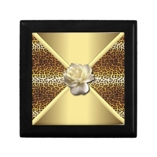 Gold Leopard Gift Box