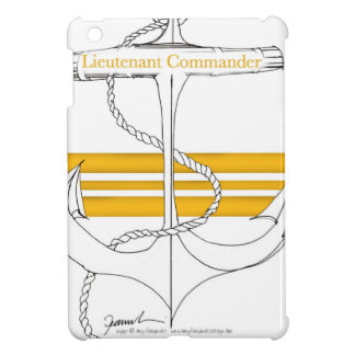 gold lieutenant commander, tony fernandes cover for the iPad mini