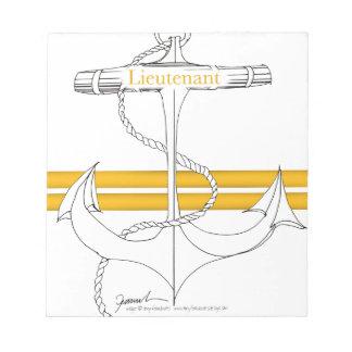 gold lieutenant, tony fernandes notepad