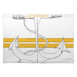 gold lieutenant, tony fernandes placemat