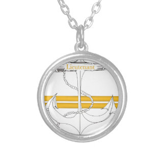gold lieutenant, tony fernandes silver plated necklace