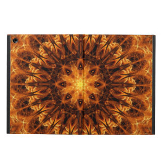 Gold Light Gateway Mandala iPad Air Cover