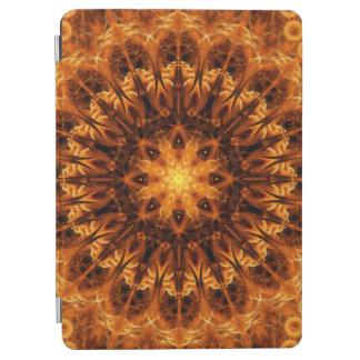 Gold Light Gateway Mandala iPad Air Cover