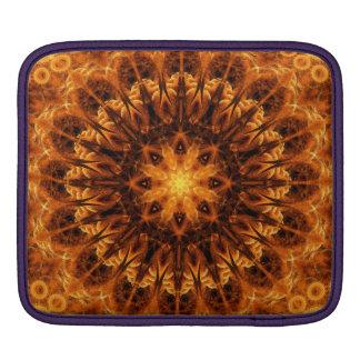 Gold Light Gateway Mandala Sleeves For iPads