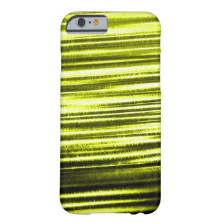 Gold Lightning Flash Fractal Barely There iPhone 6 Case