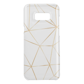 gold line polygon case