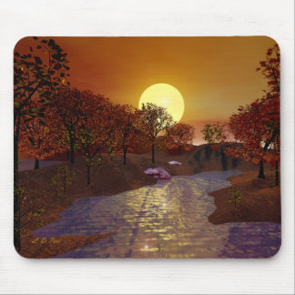 Gold Linger Mouse Pad