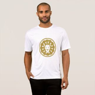 Gold lion emblem T-Shirt