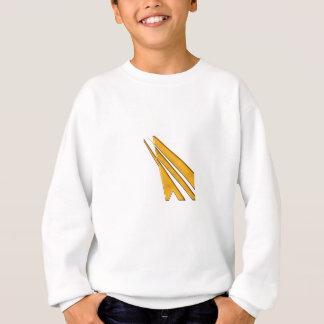 gold logo sweatshirt