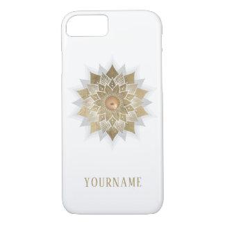 Gold Lotus Flower Mandala Case-Mate iPhone Case