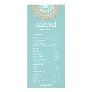 Gold Lotus Mandala  Spa Salon Price List Menu