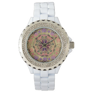 Gold Mandala Stylish Watch