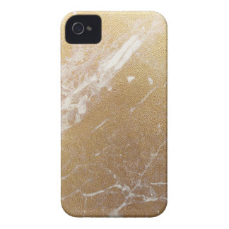 gold marble foil Case-Mate iPhone 4 case